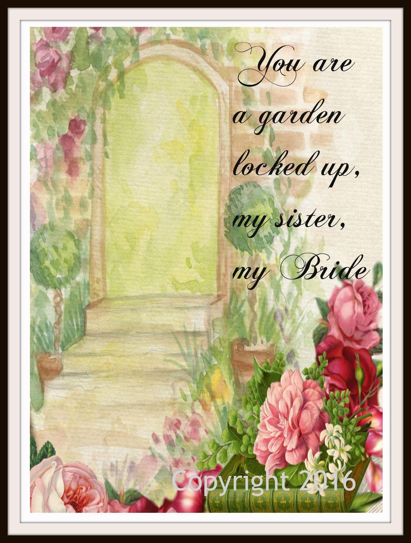 Scripture Art Print \