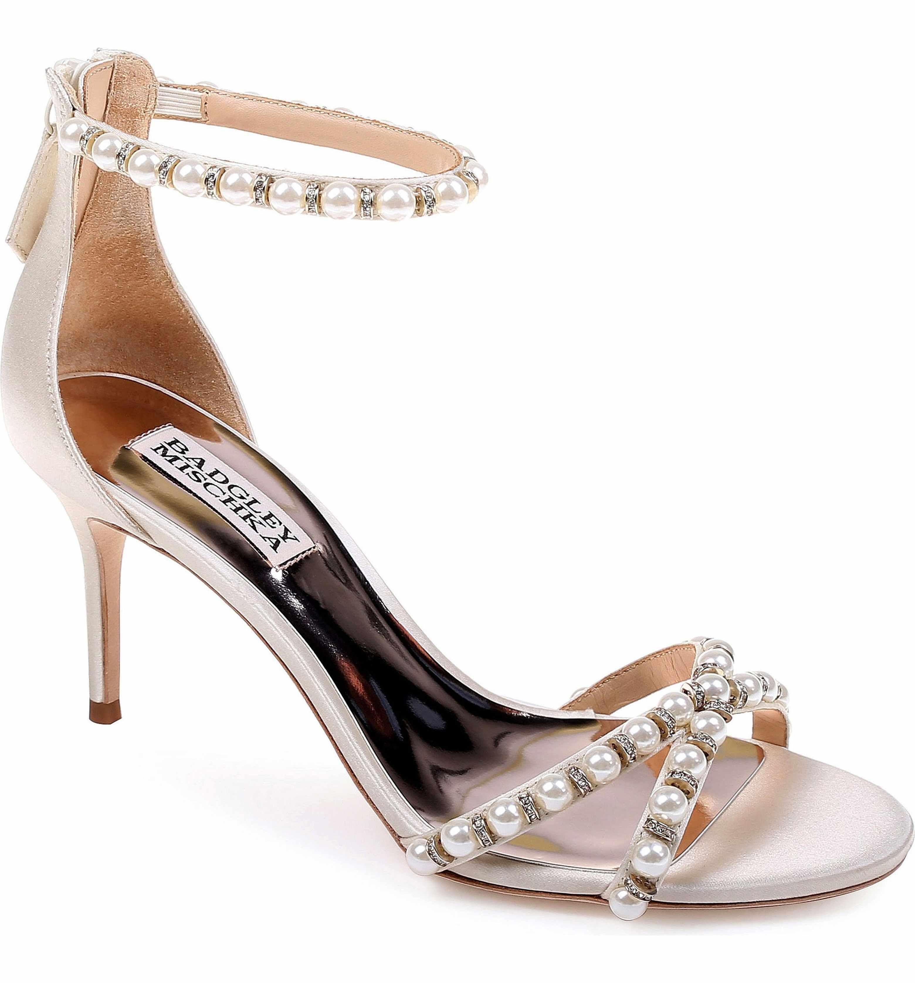 Badgley Mischka Women's Hannah Embellished Ankle Strap Sandal lT5XAjWaw