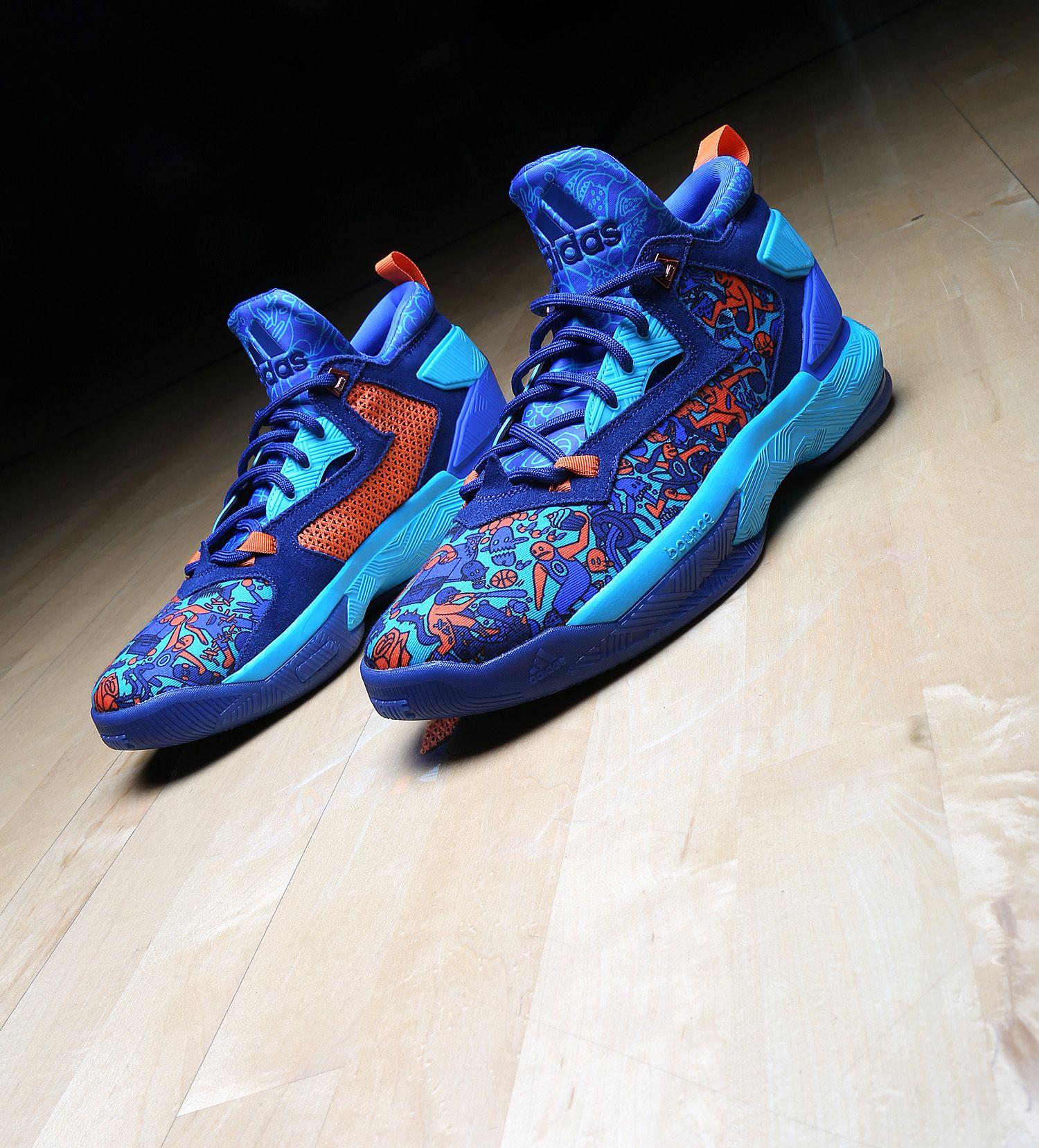sports shoes cb1a6 b7930 Damian Lillard Camp adidas DLillard 1