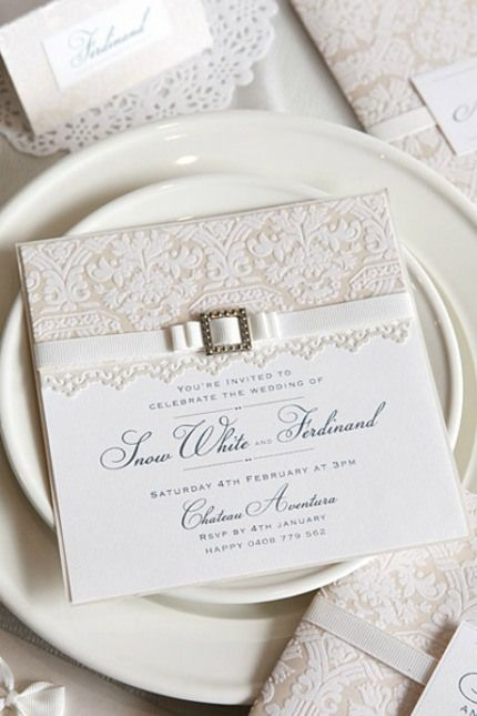 13 Beautiful Wedding Invitations To Diy Yourself Wedding Invitations Diy Pearl Wedding Invitations Wedding Invitations