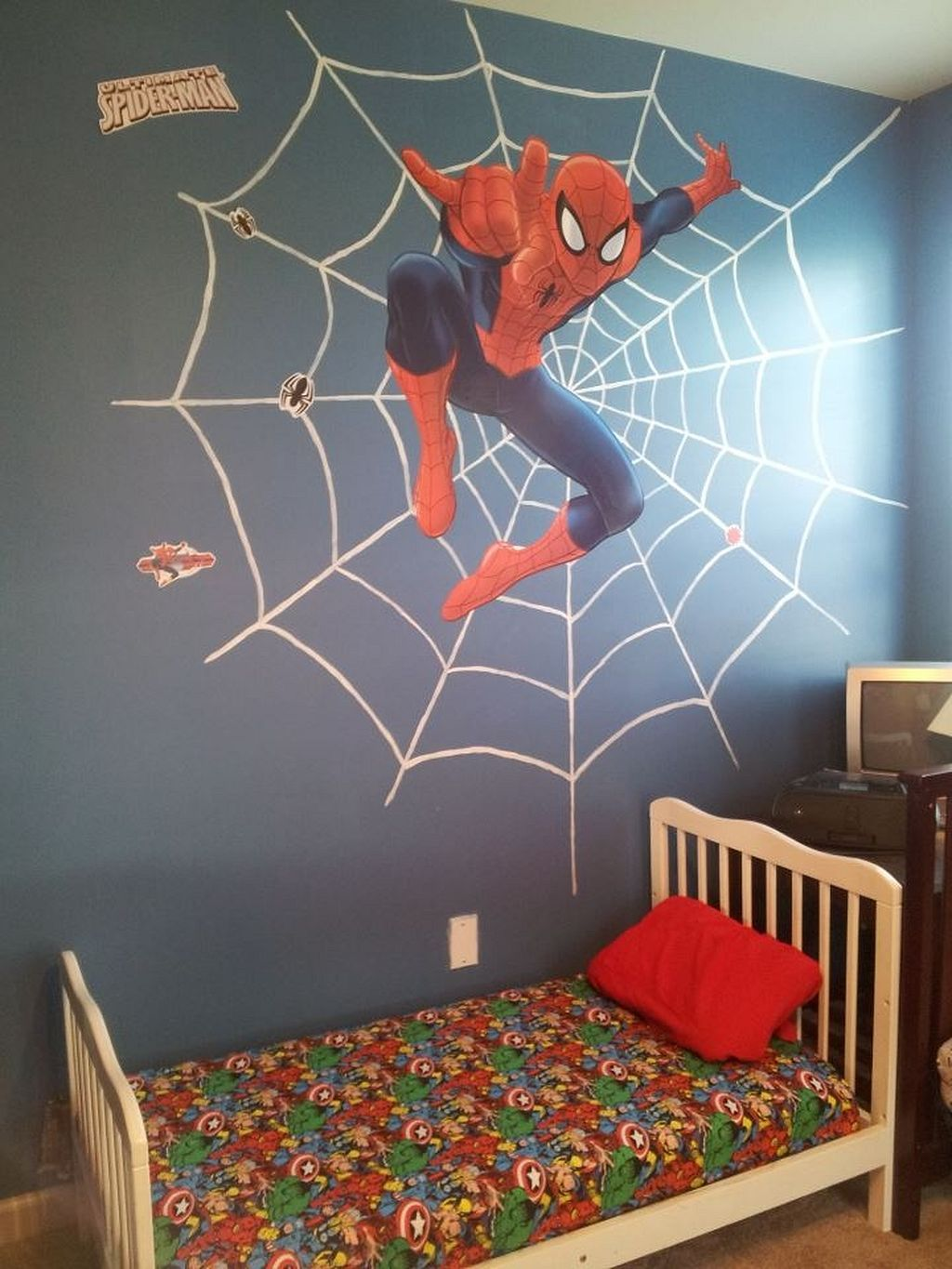 30 DIY Spiderman Themed Bedroom Ideas for Your Little Superheroes images