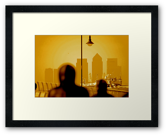 London Docklands The City - Peter Burke by steelasophical