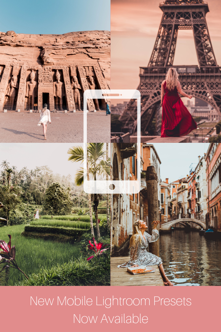 Dream away with me mobile presets Beautiful places to