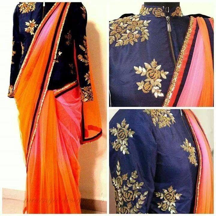 Jacket Blouse Indian Wear Pinterest Blouse Designs Saree