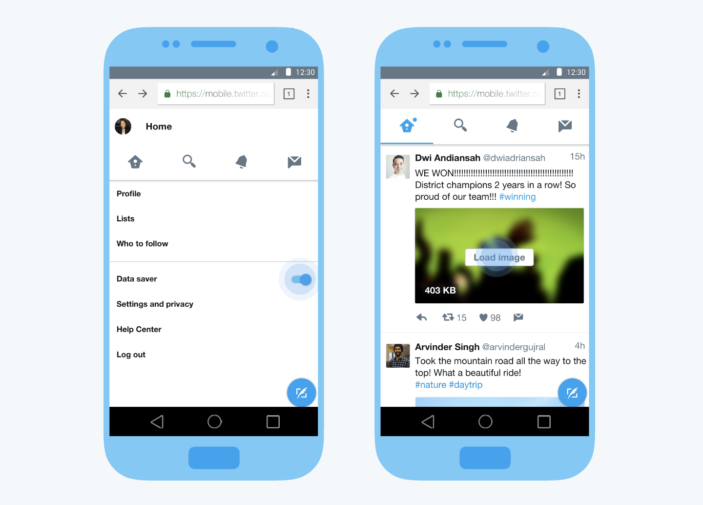Twitter Lite Mobile Web App Launching Worldwide Android