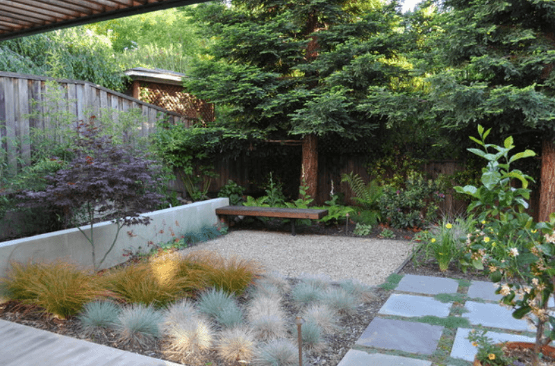 5 Drought Tolerant Landscaping Ideas For A Modern Low Water Garden Modern Landscaping Small Yard Landscaping Modern Garden Design