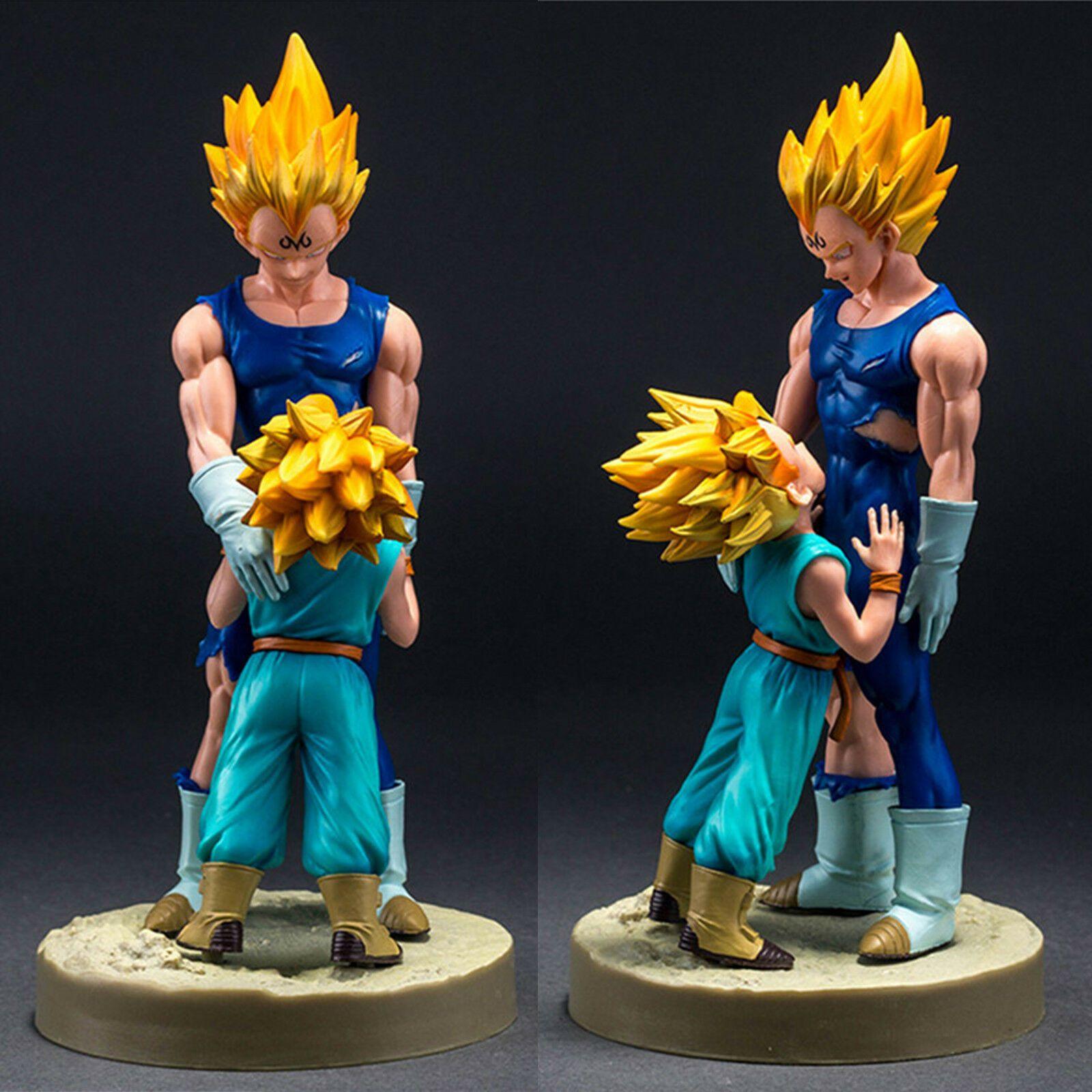 DragonBall Z DS4 Majin Vegeta Trunks DBZ PVC Anime Figure Figurine Toy In Box