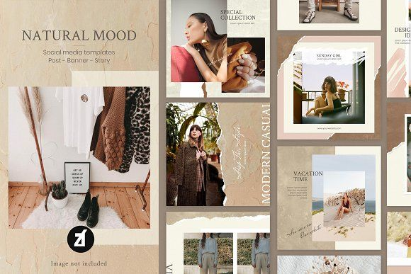 Photo of Natural mood Social media template by Chanut is industries on Creative Market