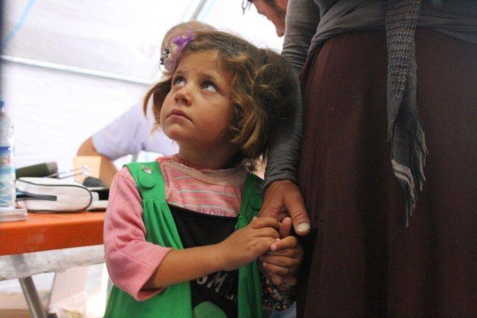 Siria. Nowruz refugees camp