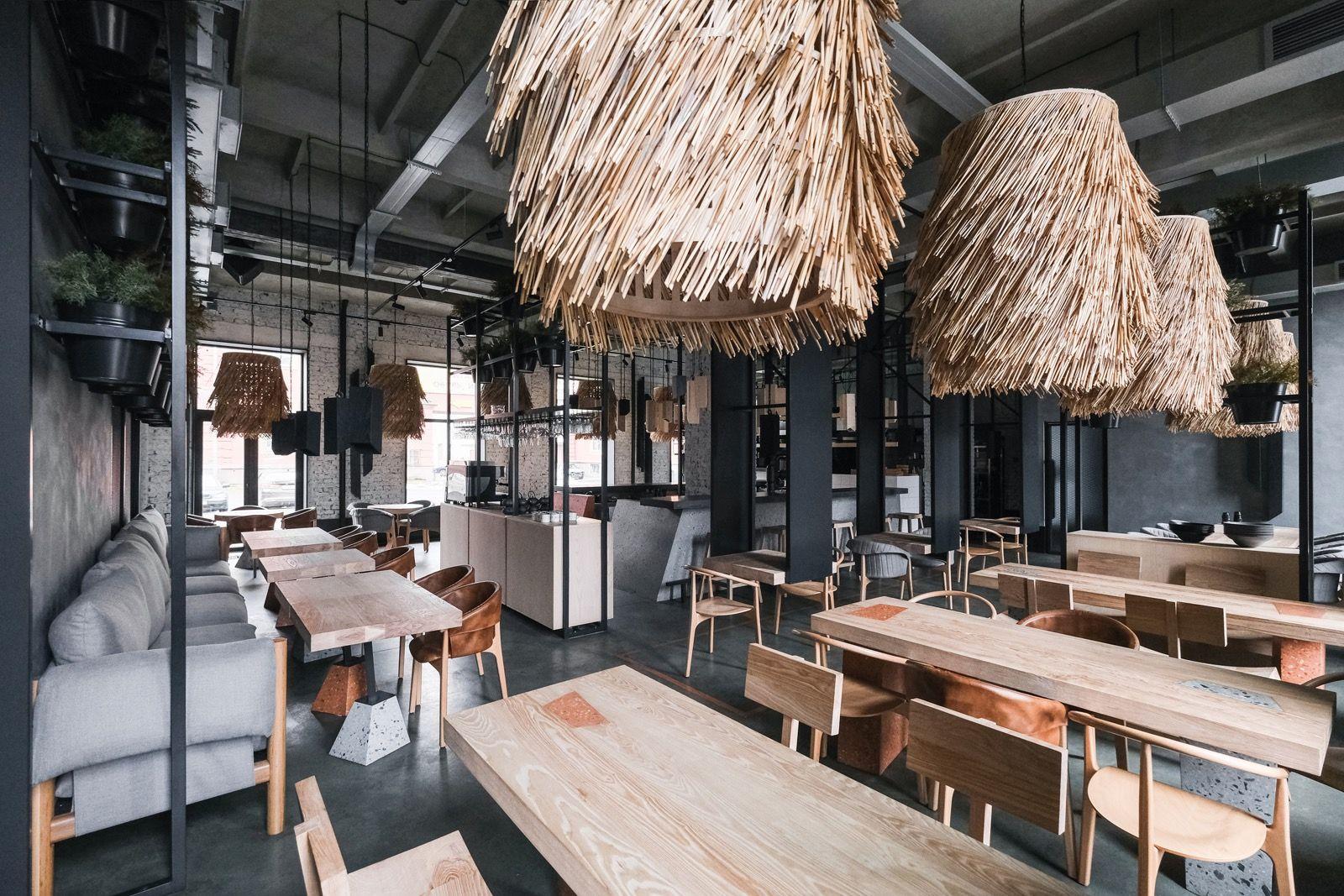 Architecture Bureau Da Combines Scandinavian Design With Viking Theme At Lodbrok Restaurant In St Petersburg Bar Interior Design Cool Apartments Architecture