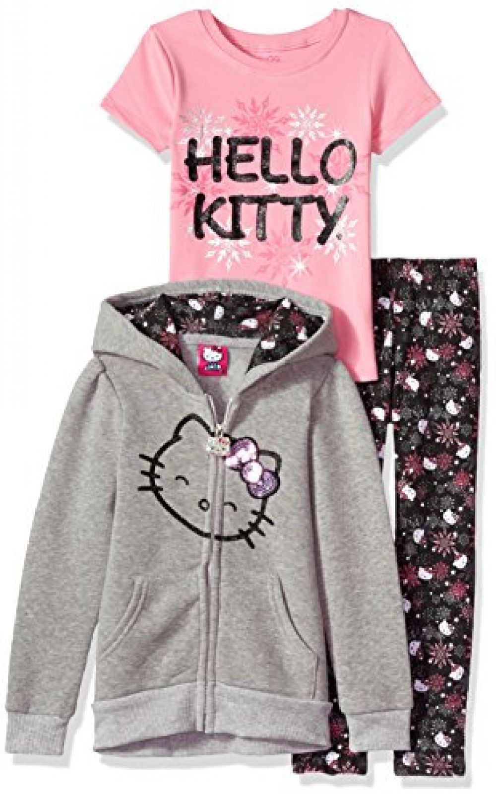 Hello Kitty Hooded Legging Set