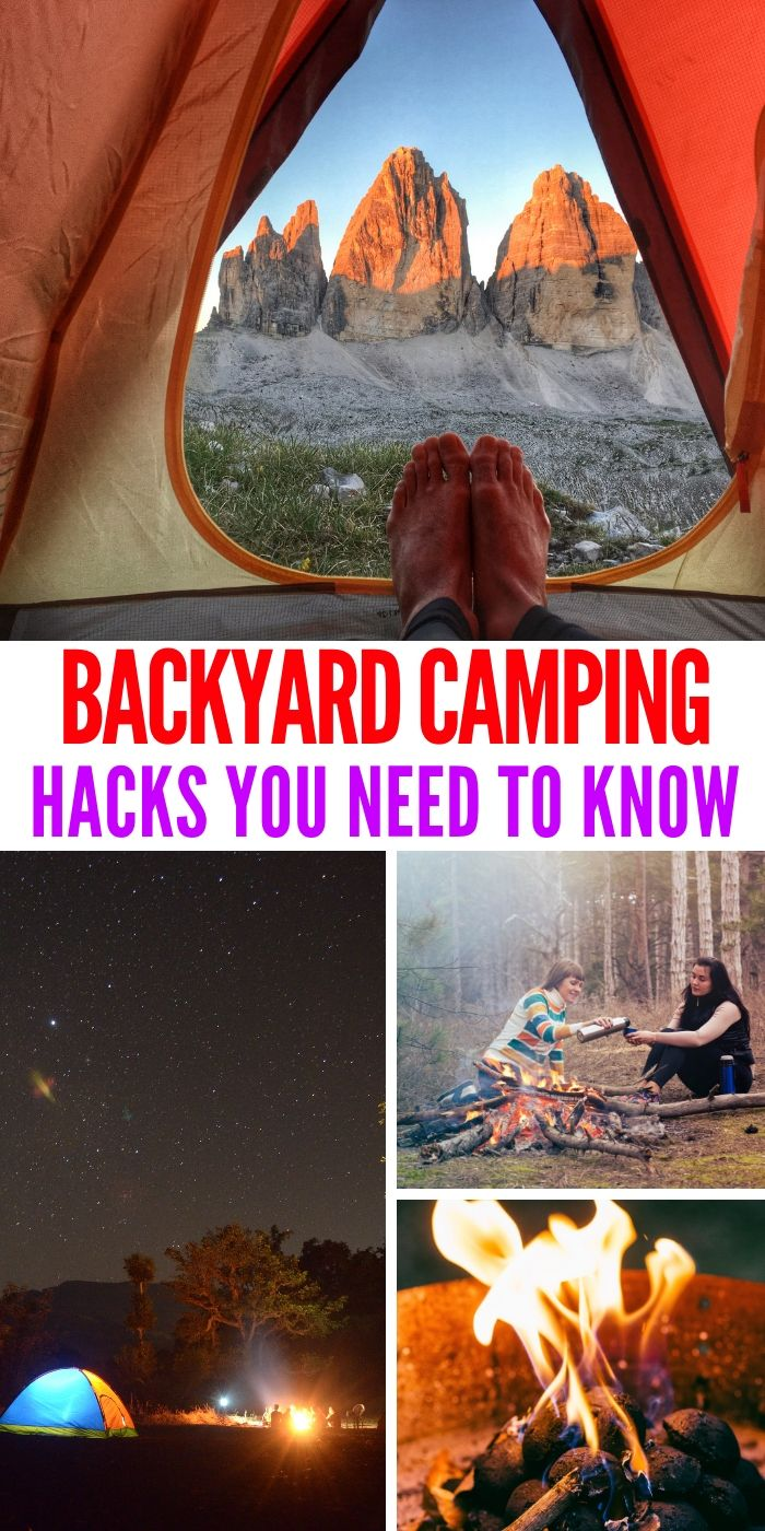 Photo of Crazy Simple Family-Friendly Backyard Camping Hacks