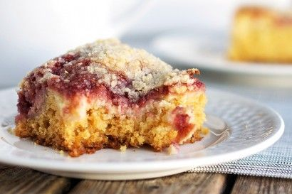 Raspberry Cream Cheese Coffee Cake from Tasty Kitchen