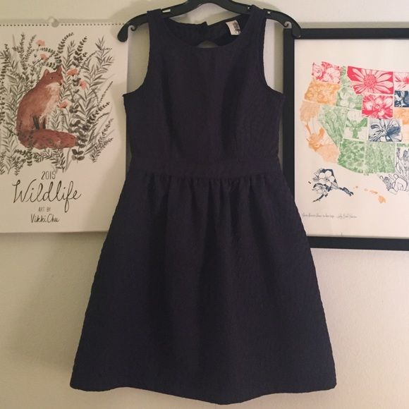 Navy cocktail dress, Cute open back Cute cocktail style dress perfect for birthdays, dates, or a nice dinner! Dresses Backless