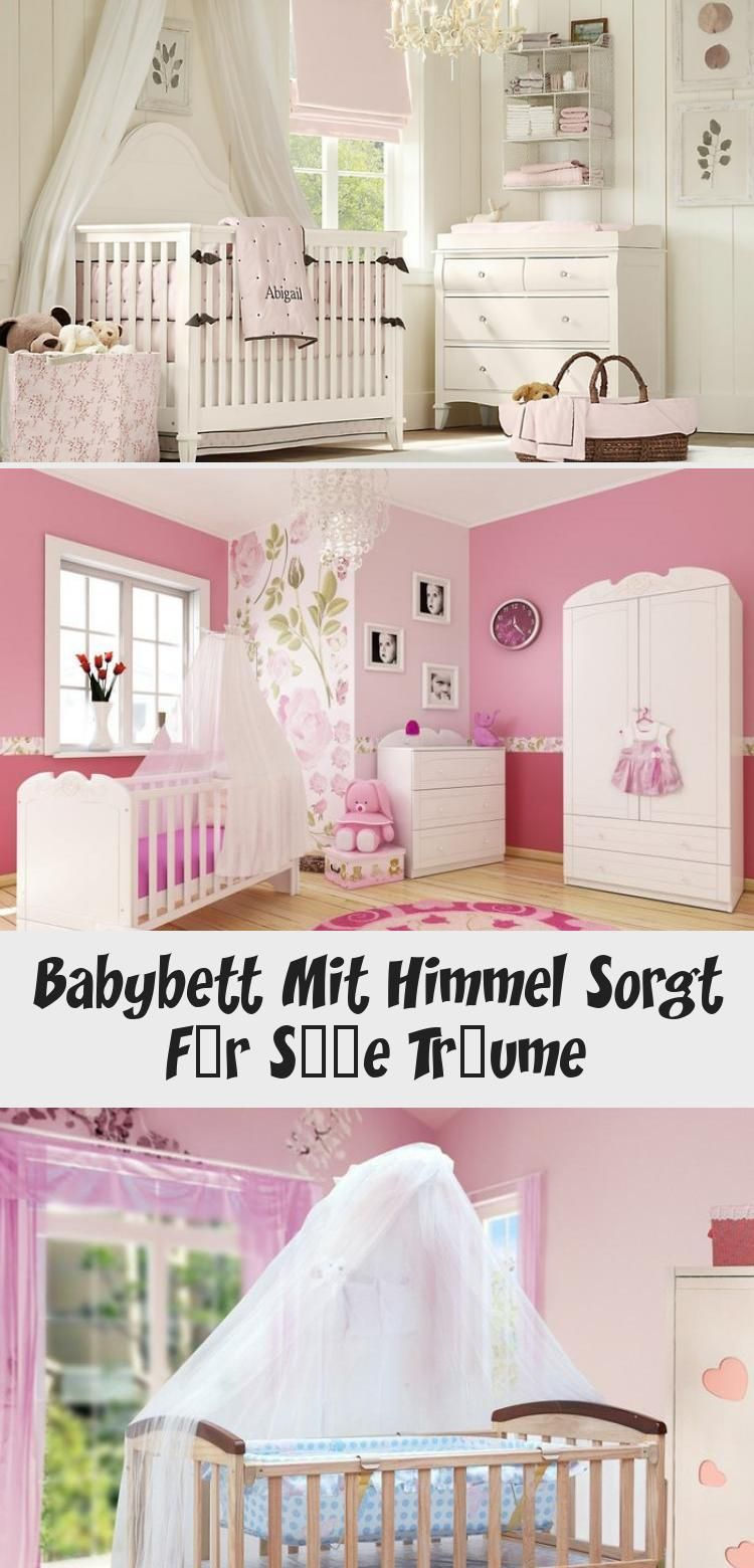 Babybett Mit Himmel Sorgt Fur Susse Traume In 2020 Babybett Bett