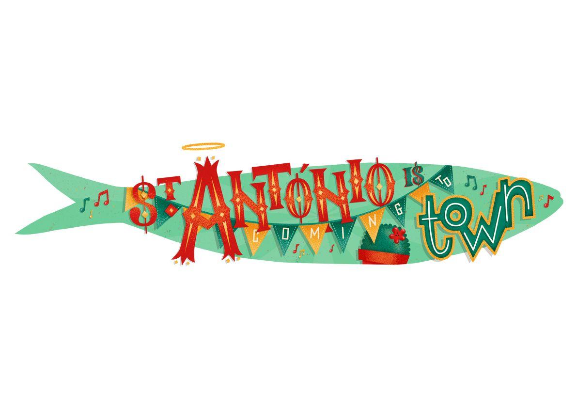 Sardinhas Festas de Lisboa '15 // Illustration on Behance