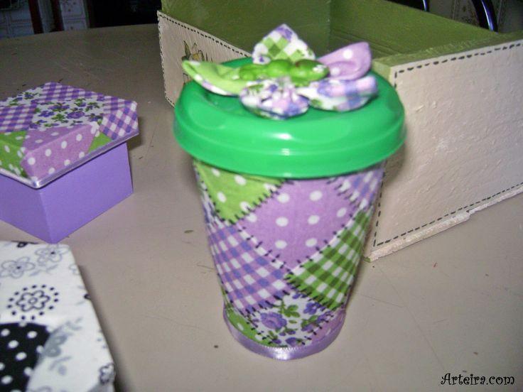 copo de requeijao reciclado - Pesquisa Google