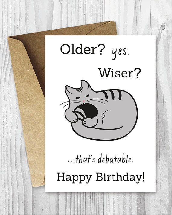 Happy Birthday Cards Funny Printable Birthday Cards Funny Cat
