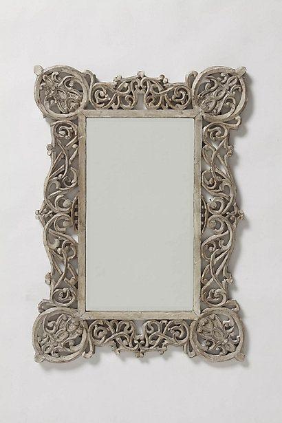 Chantilly Vines Mirror #anthropologie