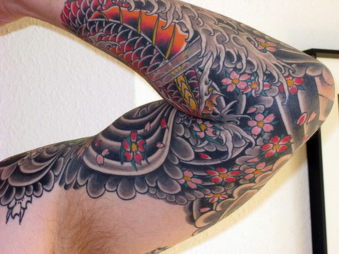 japanese-sleeve-tattoo-designs-photo-13934324704gn8k ... Japanese Sleeve Tattoos For Women