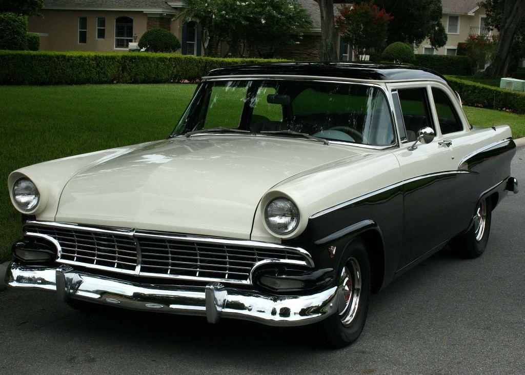 1956 Ford Customline Restomod Coupe 302 V 8 Ebay Ford