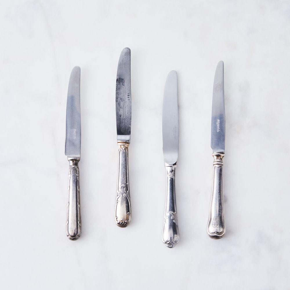 The Food52 Vintage Shop Vintage Petite Butter Knives Set Of 4 Butter Knife Food 52 Vintage