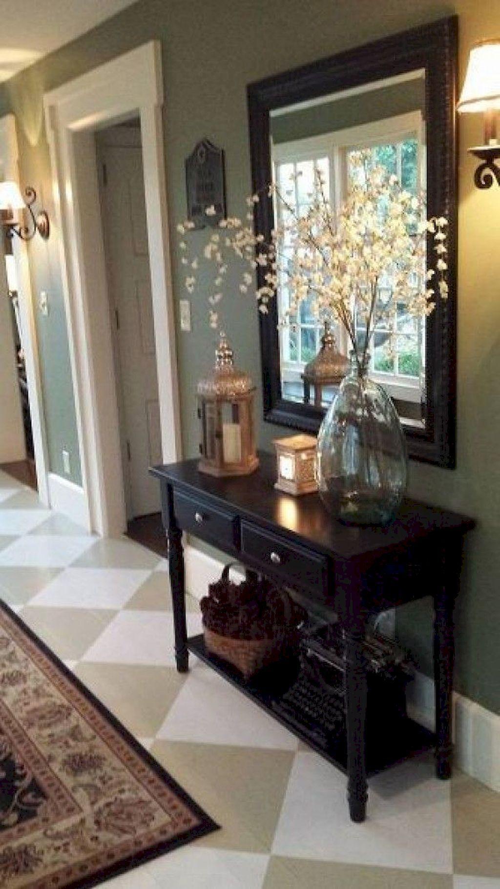 Gorgeous 80 Stunning Rustic Farmhouse Entryway Decorating Ideas