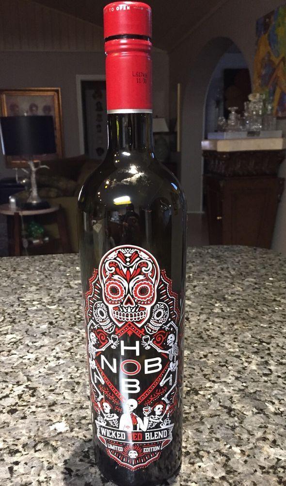 Details about Empty Wine Bottle Sugar Skull Design Screw