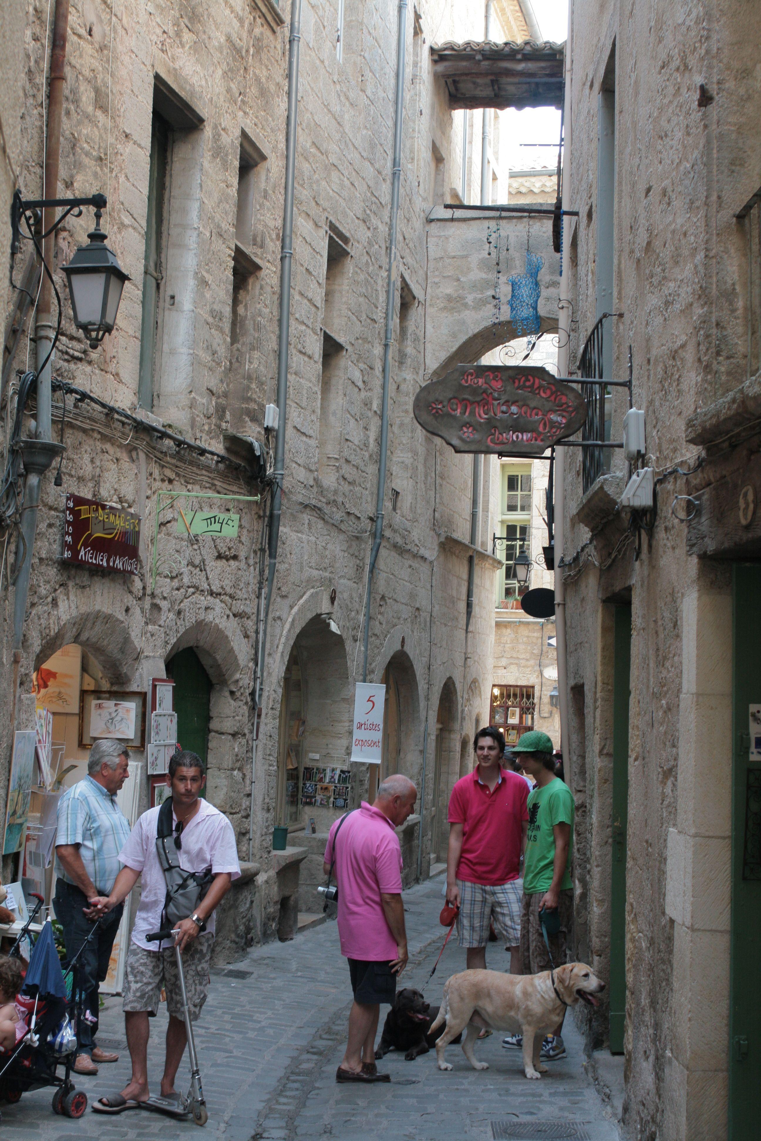 Pezenas France The Ancient Jewish Quarter