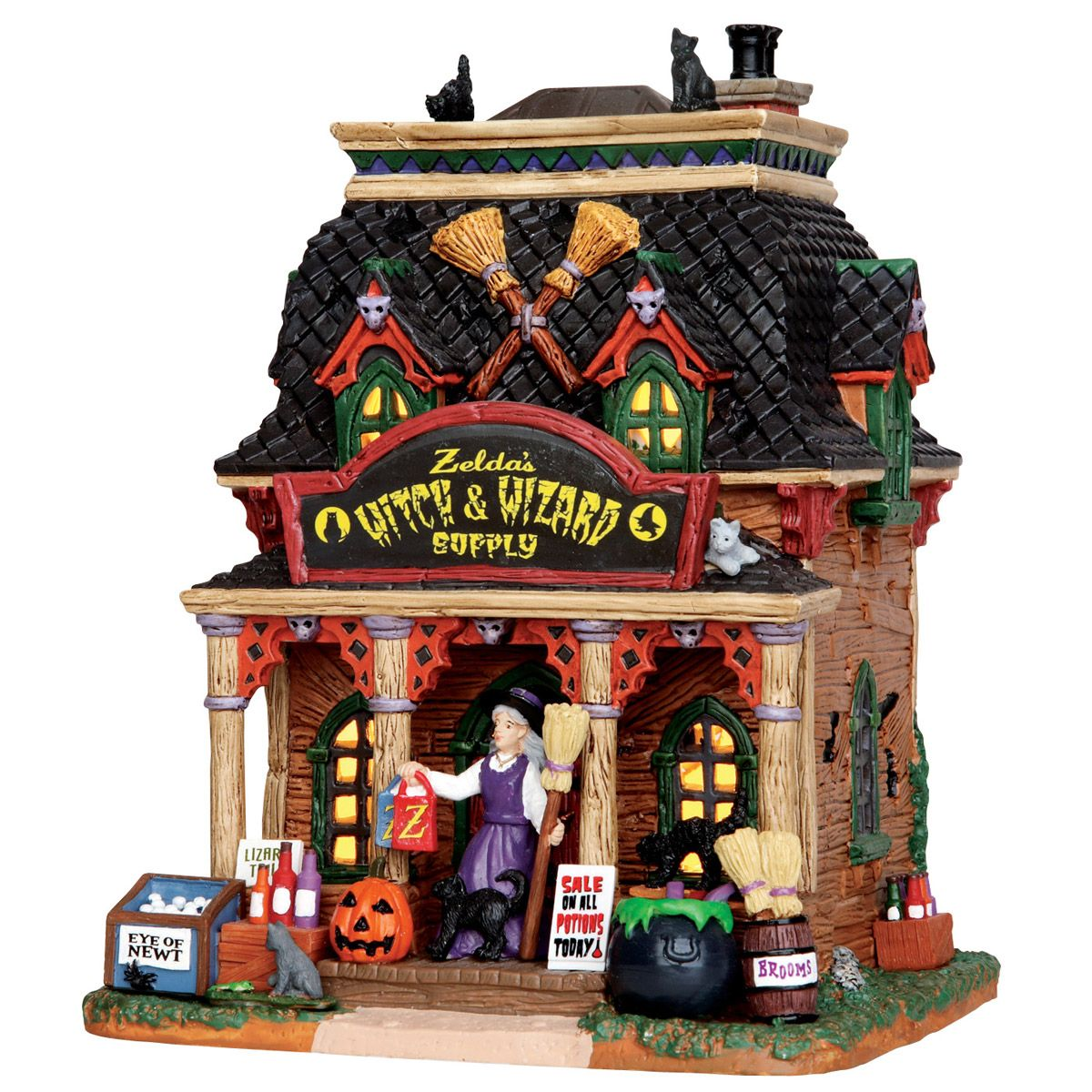 Scary-Go-Round  Zelda\u0027s Witch  Wizard Supply - Michael\u0027s Exclusive - michaels halloween decorations
