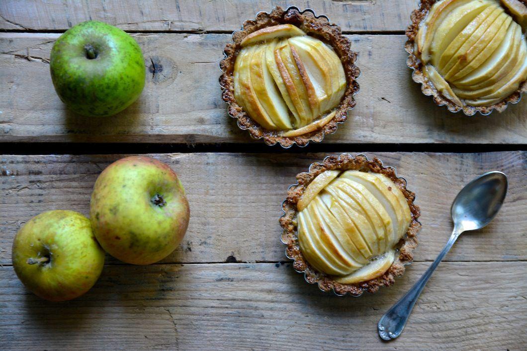 Ma recette de tartelettes aux pommes sans gluten avec de la farine de châtaigne et un caramel sans lactose - 22 v'la Scarlett