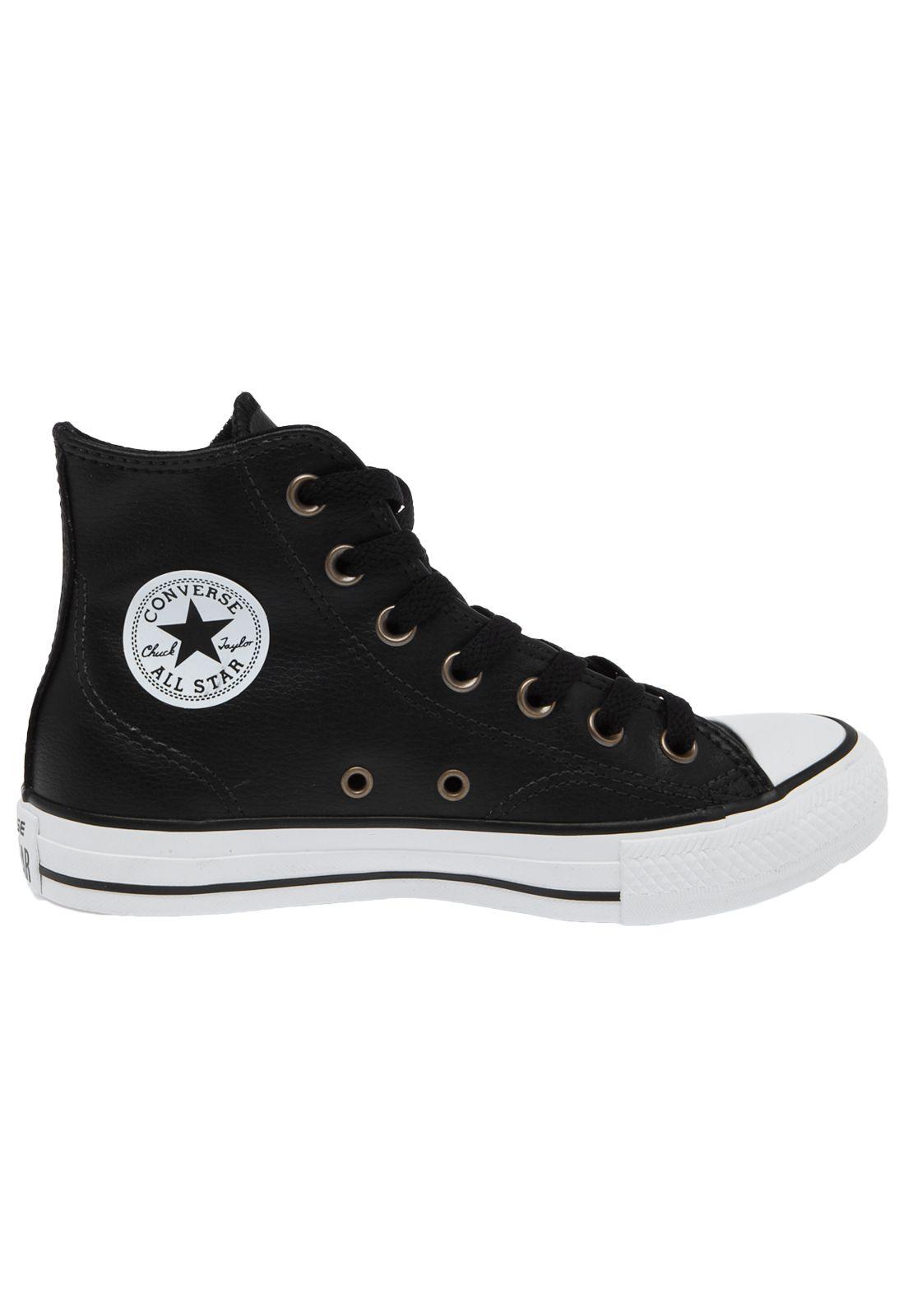 all star converse monocrome em lona todo preto