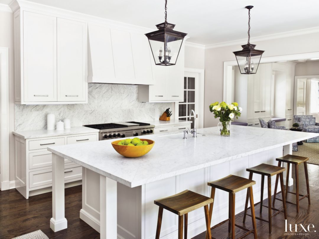 Best 50 Sleek White Kitchens Luxedaily Design Insight From 400 x 300