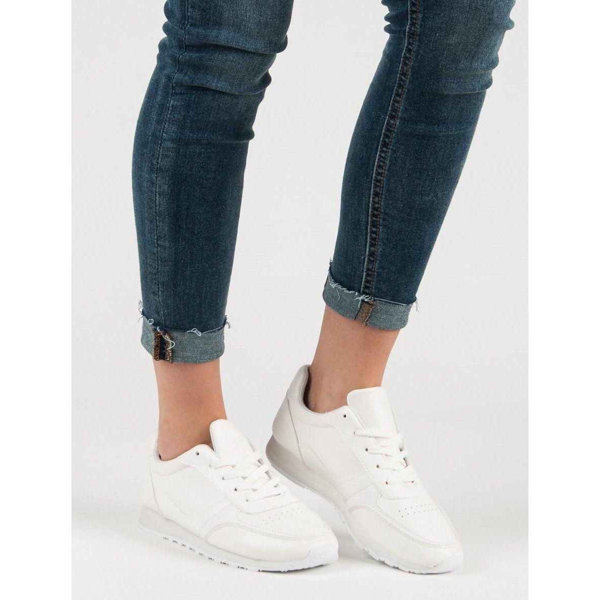 Jumex Wygodne Buty Sportowe Biale Shoes White Sneaker Sneakers