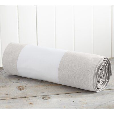 Highland Dunes Edwidge 100 Cotton Beach Towel Colour Linen Oversized Beach Towels Beach Towel Linen Store