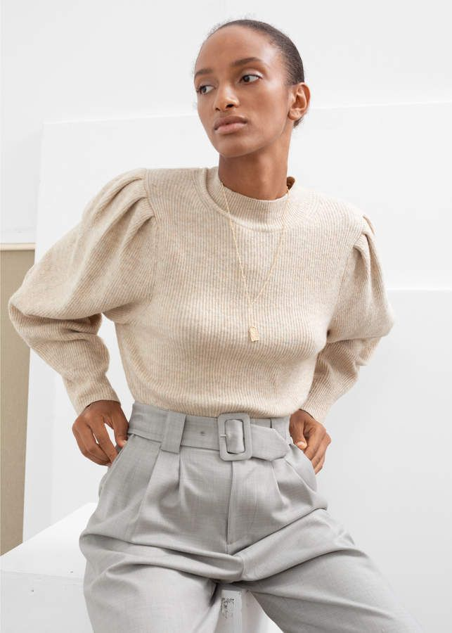PDP | Sweater sleeves, Sweaters, Ribbed knit sweater