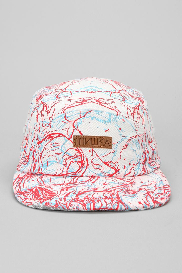 Mishka 3 Destroy 5-Panel Hat  I want this!!
