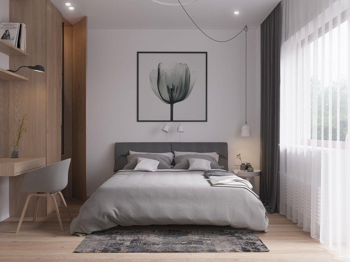59 Gorgeous Modern Scandinavian Bedroom Design   About Ruth