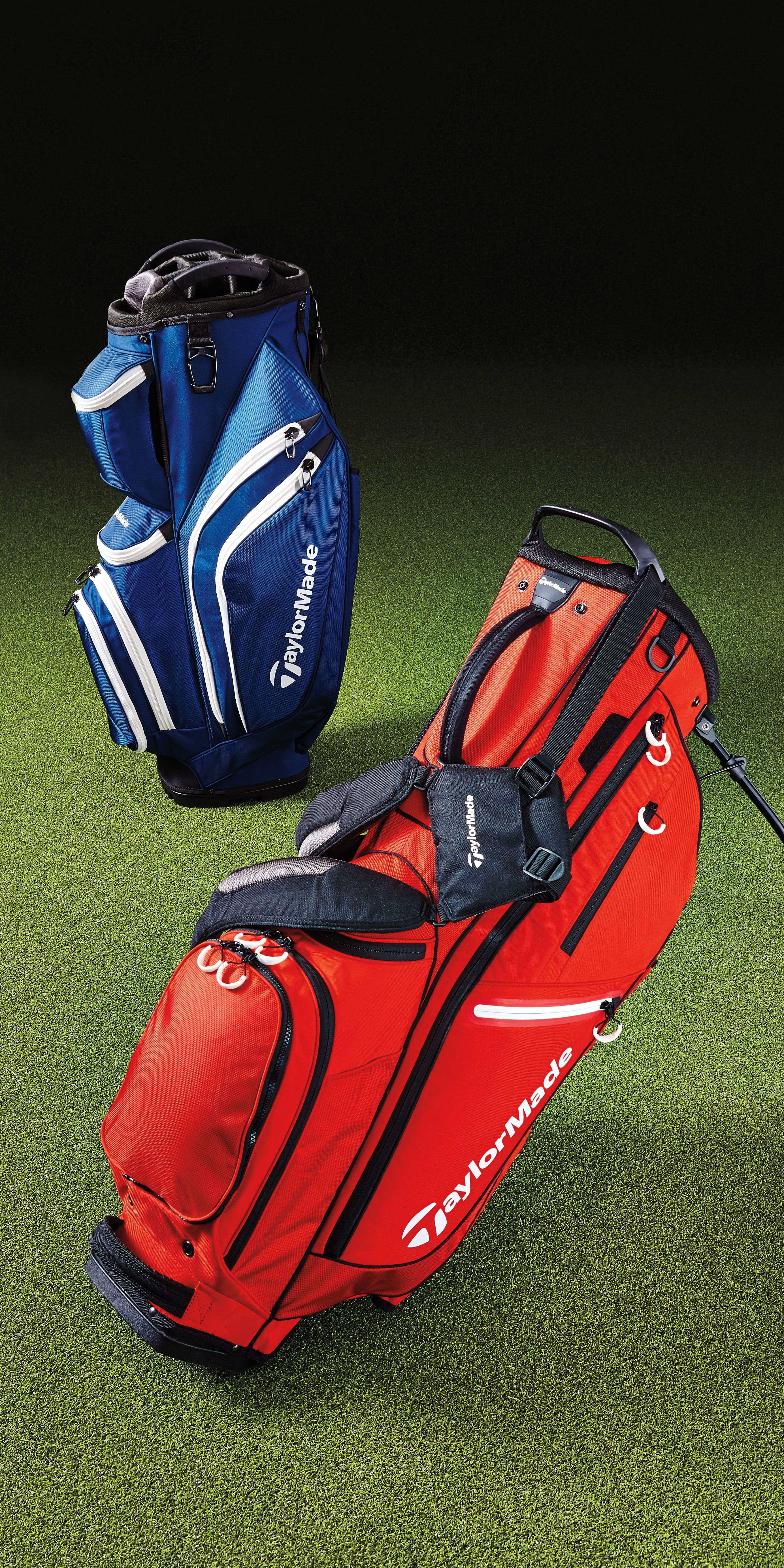 TaylorMade Supreme Cart Bag and 2017 FlexTech Crossover Stand Bag  c74a436b7fe7d