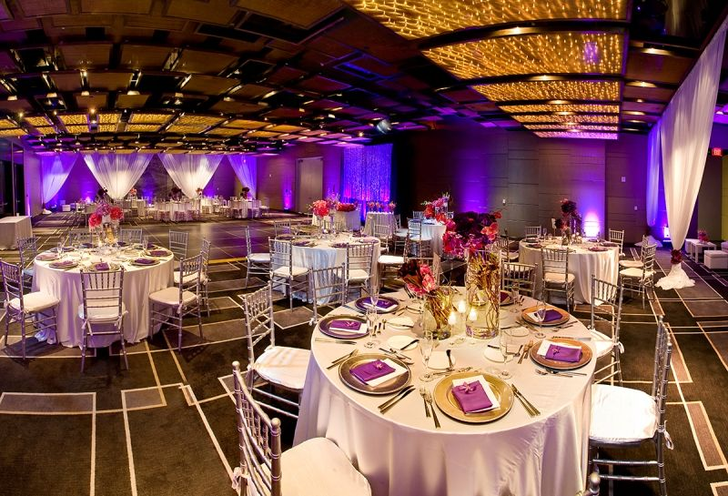 Indoor Wedding Reception At W South Beach Miami Wedding Venues Beach Theme Wedding Indoor Wedding Receptions