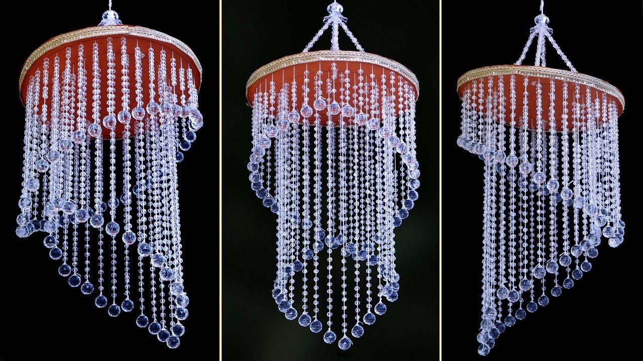 Amazing Pearl Wall Hanging Idea  DIY Jhumar Making  Handmade