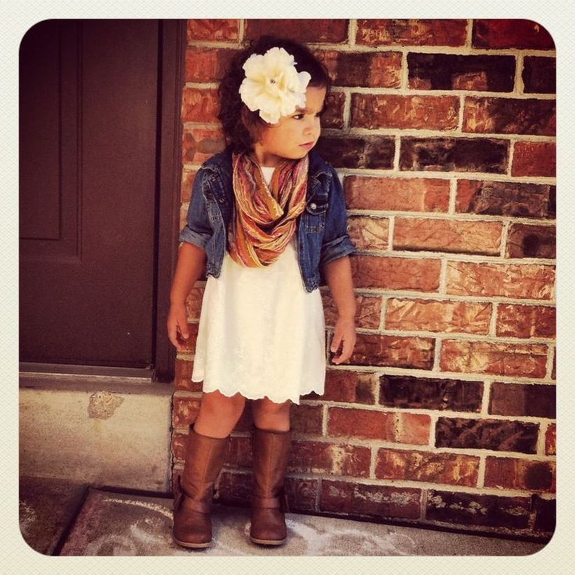 4e12b053d8b2 Cute fall outfits ideas for toddler girls 13
