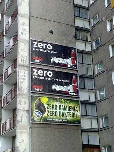 a skoro nie widać różnicy, to po co przepłacać - Domestos vs Coca-Cola ZERO
