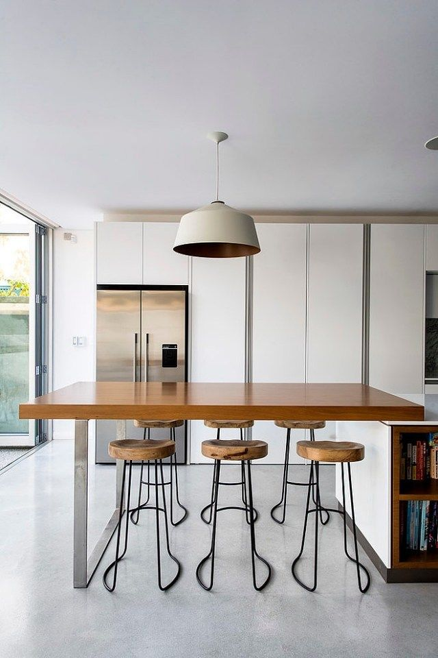 Essbereich Küche Barhocker Holz Metall Industrial Chic