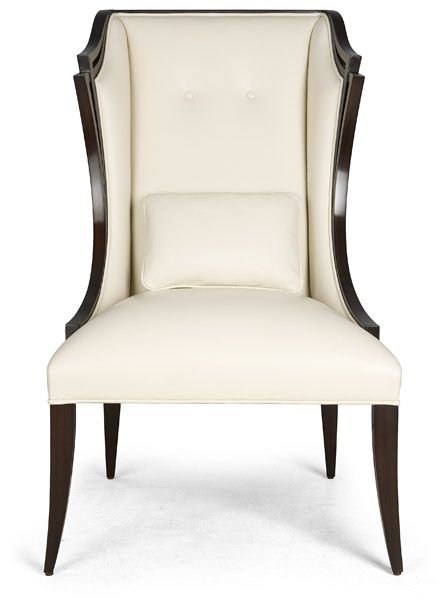 Upholstered Fabric Armchair LUCCA By Christopher Guy