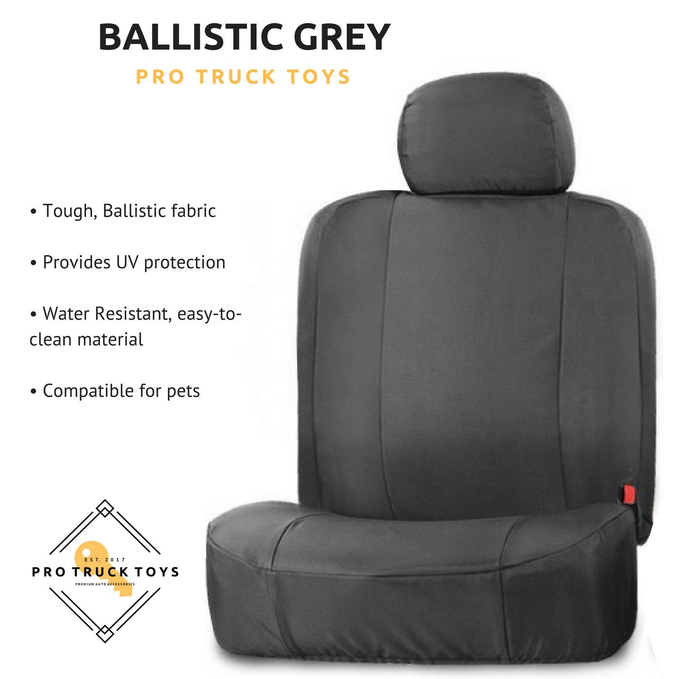 ballistic grey front seat covers 40 20 40 w 3 adjustable