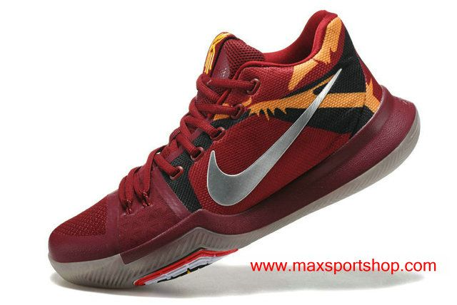 Nehmen Billig Deal Nike Kyrie 3 Ep Cavs Schuhe Blau Gelb Billig