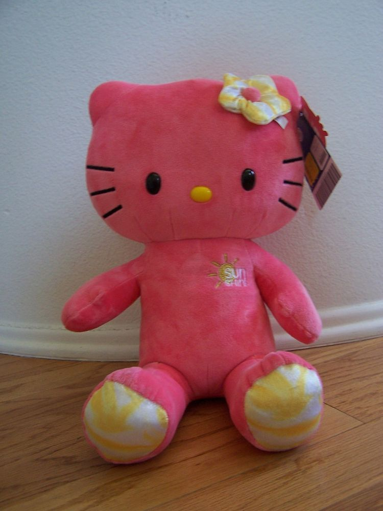 Hello Kitty Pink/Yellow Sunshine Build A Bear Limited Edition New ...