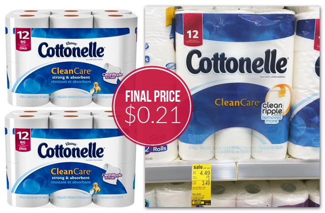 photograph about Cottonelle $1 Printable Coupon called Cottonelle Rest room Paper, Simply just $0.21 for each Roll at Walgreens
