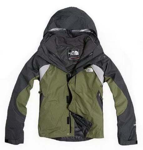 Mens The North Face Triclimate 3 In 1 Jacket Black Green